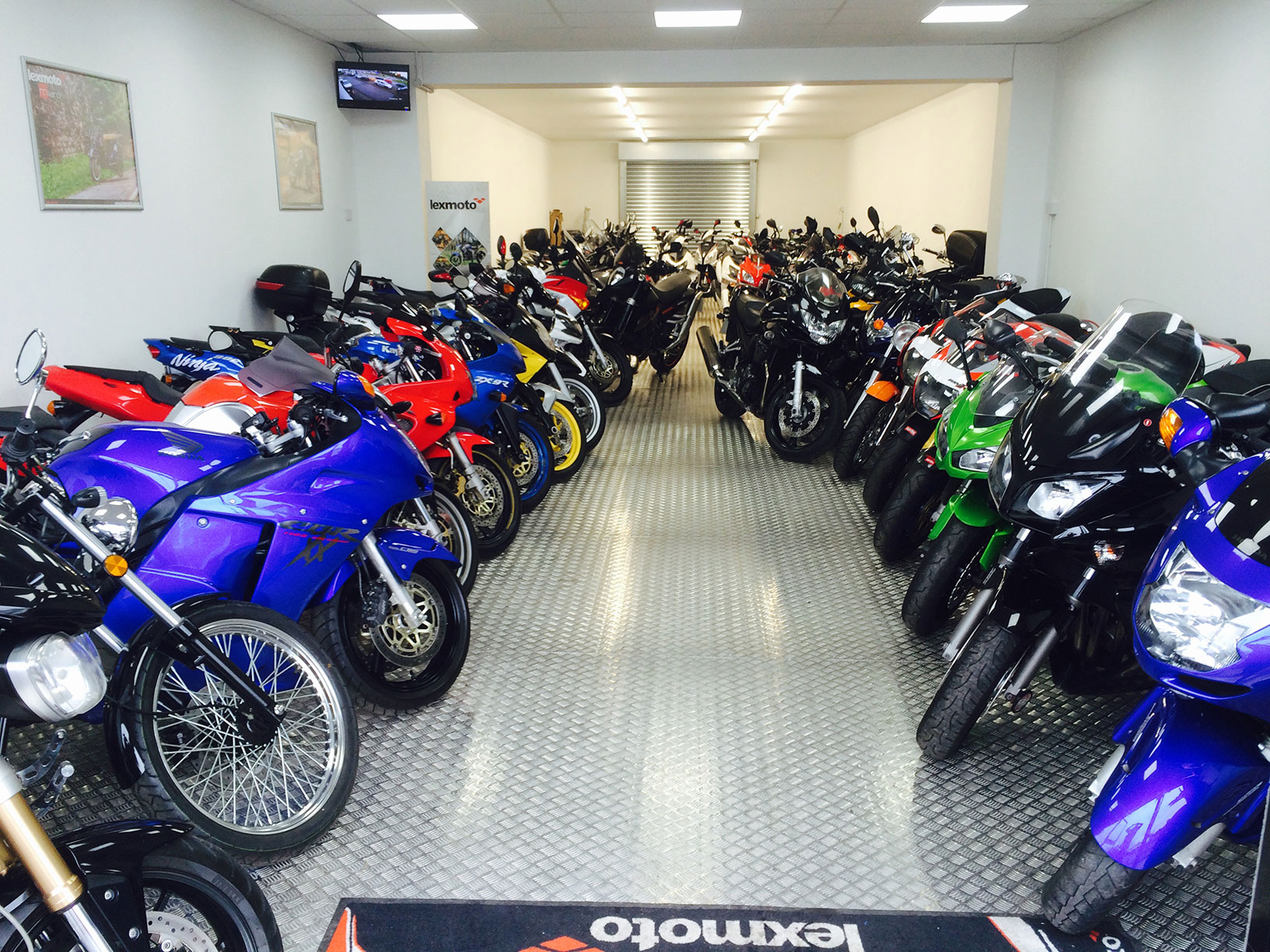 sheldon motorcycles showroom