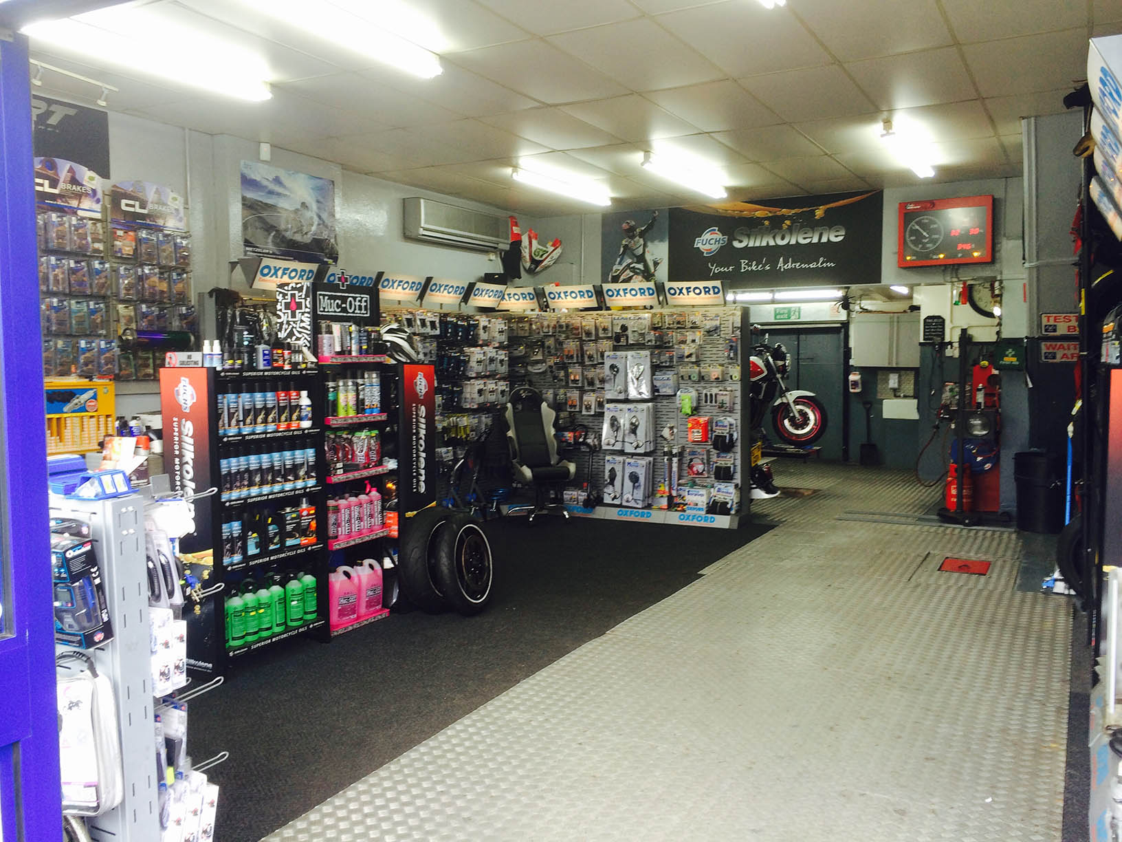 sheldon motorcycles workshop